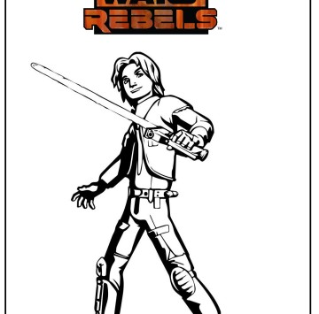 Stampa e colora Star Wars Rebels - Cartoni animati