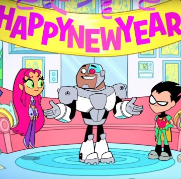 Teen Titans go Happy new year - Cartoni animati