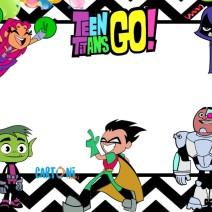 Inviti feste di compleanno Teen Titans Go - Inviti feste compleanno