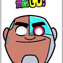 Teen titans Go maschera Cyborg - Maschere