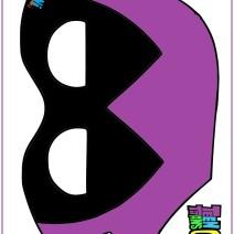 Maschera Raven da stampare - Maschere