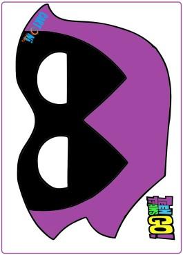 Maschera Raven da stampare
