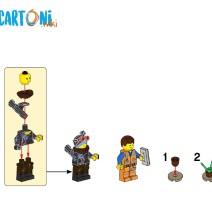 The lego movie 2 - La casa di Emmet istruzioni Lucy - Istruzioni Lego