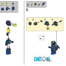 The lego movie 2 - costruzioni istruzioni per montaggio Rex - Istruzioni Lego