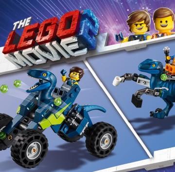LEGO Movie 2 - Il fuoristrada Rex tremo di Rex - Cartoni animati
