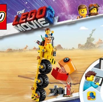The lego movie 2 Il triciclo di Emmet - Cartoni animati