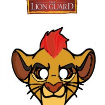 The lion Guard Machere da stampare - Maschere