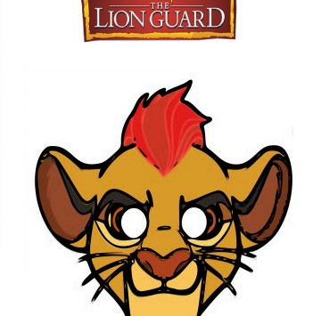 The lion Guard Machere da stampare - Cartoni animati