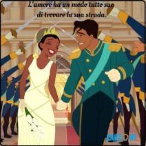 L'Amore ha un modo tutto suo di trovare la sua strada - Frasi Disney