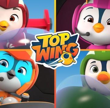 Top Wing Sigla iniziale - Cartoni animati
