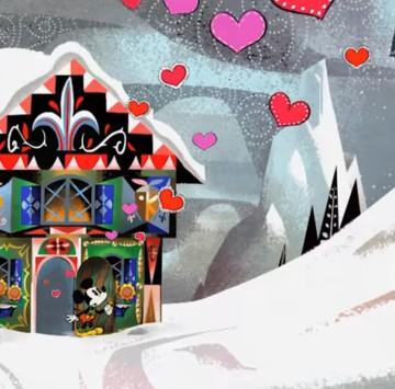 A Yodelberg - Cortometraggio Topolino - Cartoni animati