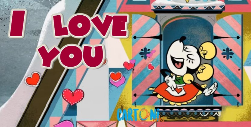 I Love You con Minnie - Cartoni animati