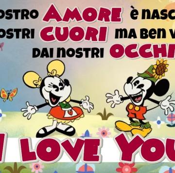 Il nostro Amore come Topolino e Minni - Cartoni animati