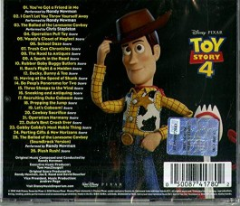 Toy Story 4 Colonna sonora