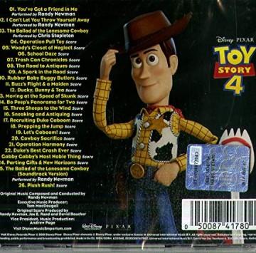 Toy Story 4 Colonna sonora - Cartoni animati