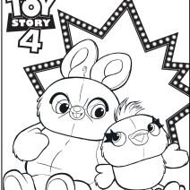 Toy Story 4 disegni da stampare - Disegni da colorare