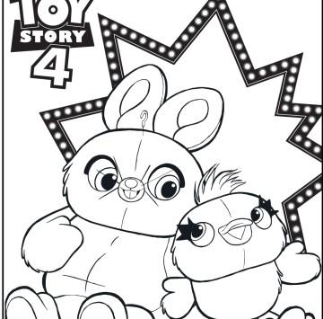 Toy Story 4 disegni da stampare - Cartoni animati