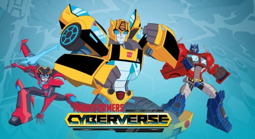 Transformers Cyberverse Cartoni Animati