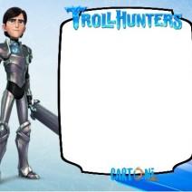 Trollhunters template e frame - Biglietti di auguri
