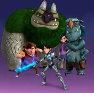 Trollhunters le immagini png dei personaggi - Cartoni animati
