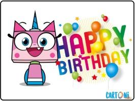 Unikitty happy birthday