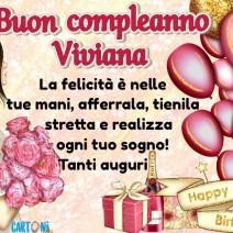 Tanti auguri di buon compleanno Viviana - Viviana