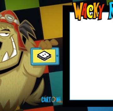 Wacky races template - Cartoni animati