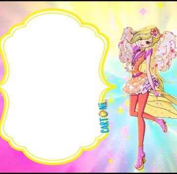 Stella Winx 8 invito compleanno - Cartoni animati