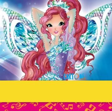 Biglietti di auguri winx gratis - Cartoni animati
