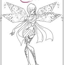 Winx Tecna Bloomix - Disegni da colorare