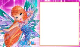 Winx club party invitation