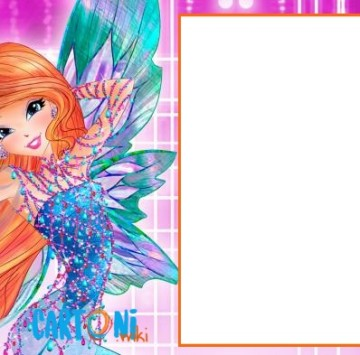 Winx club party invitation - Cartoni animati