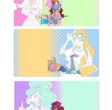 World of Winx inviti da stampare - Cartoni animati