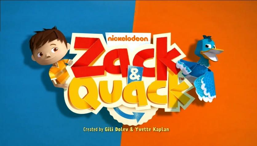 Zack e Quack - Cartoni animati