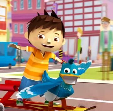 Sigla Zack & Quack - Cartoni animati