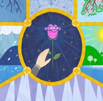 La rosa e il bambino - Cartoni animati
