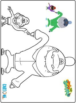 Zig & Sharko disegni da colorare