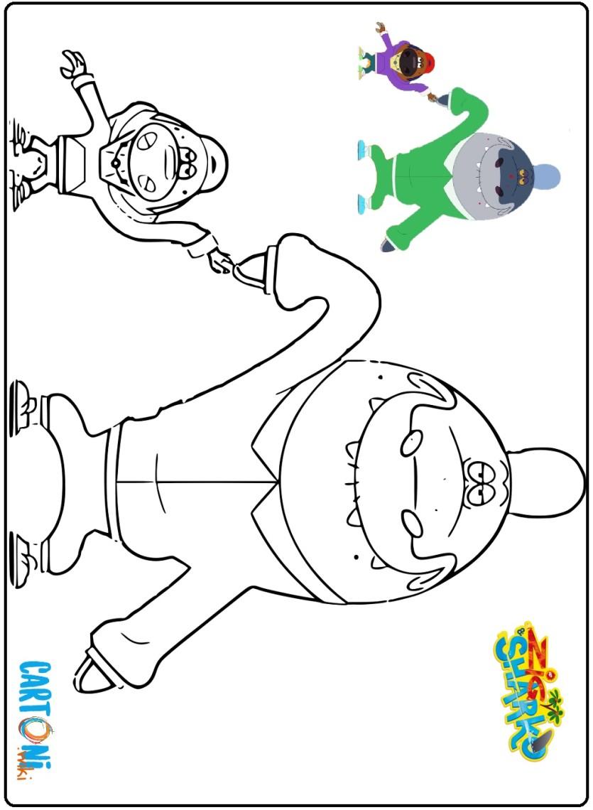 Zig Sharko Disegni Da Colorare Cartoni Animati